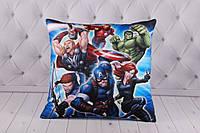 """Детская подушка """"Мстители"""", """"The Avengers"""", подушка Марвел, Marvel"""