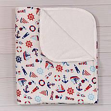 Непромокаємий пелюшка BabySoon Морячок 70 х 80 см (0637)