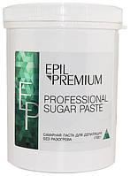 Epil Premium Hard Plus 6 - сахарная паста для депиляции без разогрева, 1700 г