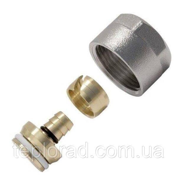 Соединитель конусный KAN-Therm для труб PE-Xc/Al/PE-HD Push PLATINUM 18x2.5 G3/4