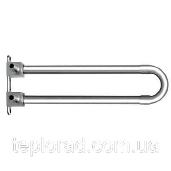 Отвод KAN-Therm Push спаренный с трубкой Cu d15 с кронштейном - элемент никелированный 18х2.5 L=200 мм