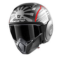 Мотошлем SHARK Street Drak Zarco Malaysian GP ASR (серебристый)