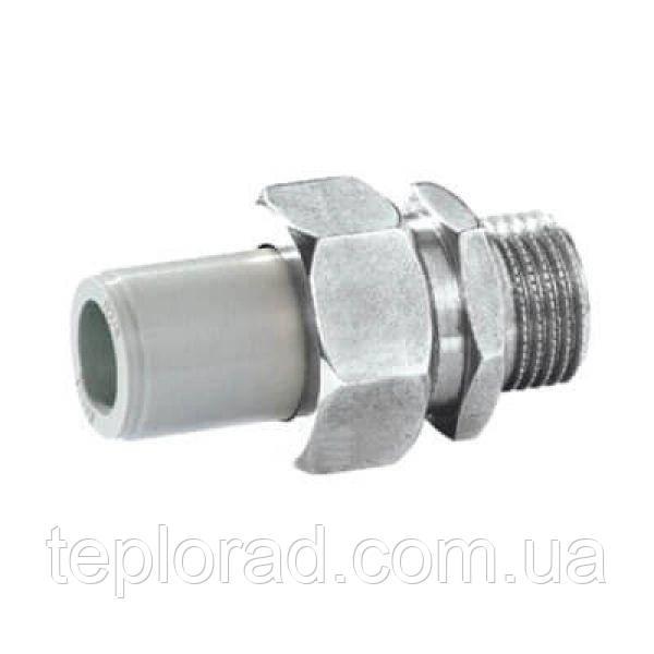 Соединитель разъемный с металлическим ниппелем KAN-therm РР 20-1/2