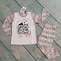 Пижама для девочки (интерлок), р. 104 (3-5 лет)