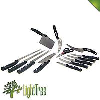 Набор кухонных ножей для нарезки еды