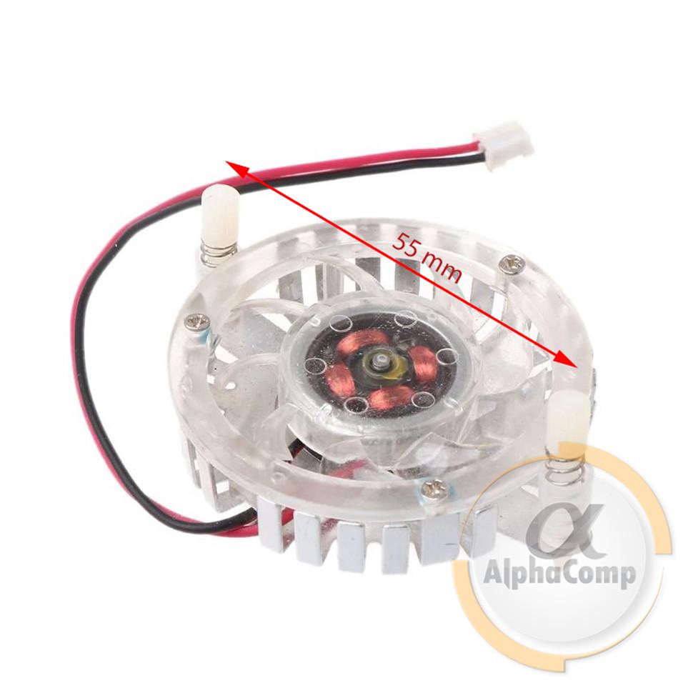 Кулер для видеокарты 48mm 2-pin (с радиатором)