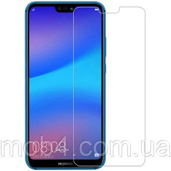Защитное стекло для Huawei (Хуавей) P20 Lite (с отступами)
