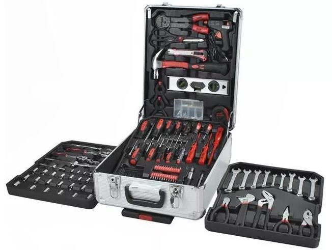 Набір інструментів Rupez RTS-186 од. Набір головок та ключів хром-ванадій