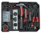 Набір інструментів Rupez RTS-186 од. Набір головок та ключів хром-ванадій, фото 6