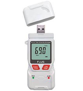 Регистратор температуры и влажности Flus ET-176, Реєстратор температури та вологості ЕТ-176