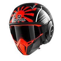 Мотошлем SHARK Street Drak Zarco Malaysian GP KOA (красный)