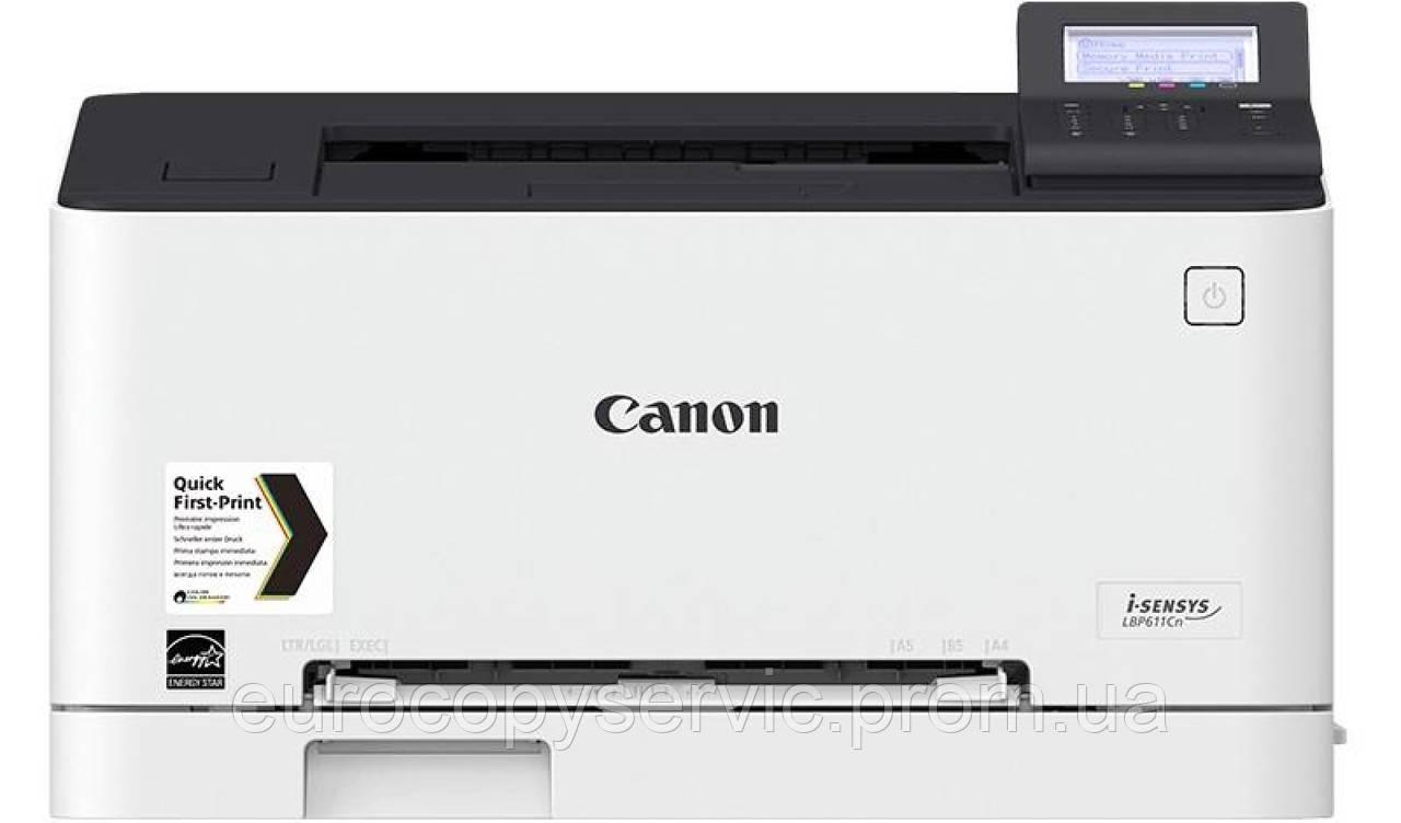 Принтер А4 Canon i-SENSYS LBP611Cn Color (1477C010)