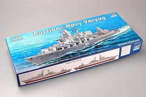 Сборная масштабная модель ракетного крейсера Варяг (бывший Червона Украина) 1/350 TRUMPETER 04519