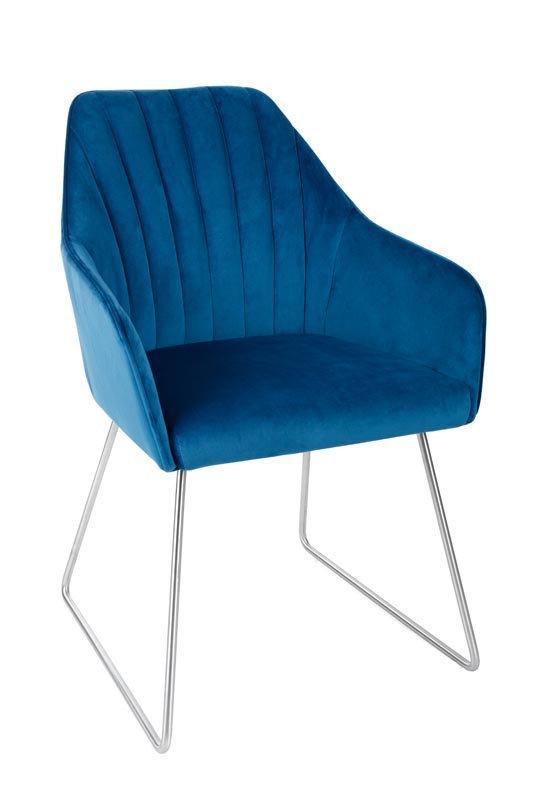 Кресло Nicolas BENAVENTE 55х60х89 см синий