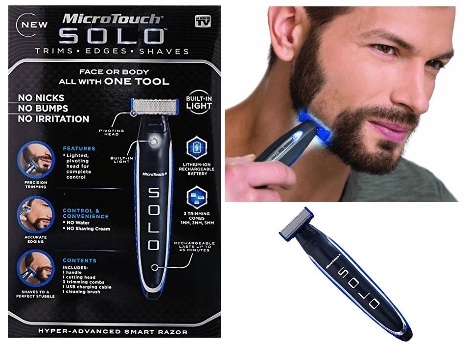 Триммер microTouch Solo бритва для Мужчин стрижка бороды тример машинка