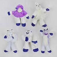 Мягкая игрушка С 33946 (200) Снежный человек, 5 видов, 27см