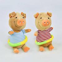 Мягкая игрушка Свинка С 31223 (72) высота 26см, 2 вида