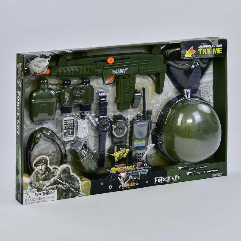 Набор военный 33570 (12) 12 предметов, в коробке