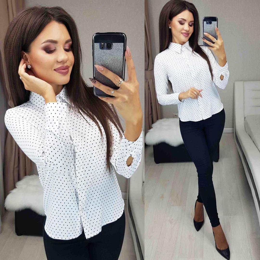 Женская блуза в расцветках
