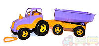 Детский трактор с прицепом maximus (5013)