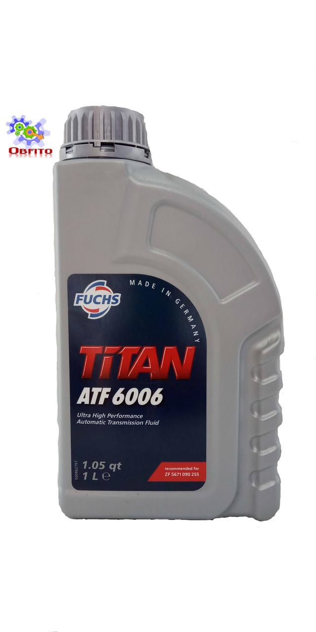 Fuchs Titan ATF 6006, 1л масло трансмиссионное синтетическое