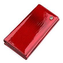 Кошелек Женский St Leather 18395 (S3001A) Красивый Красный, Красный
