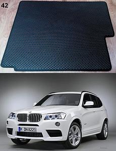 Коврик багажника BMW X3 F25 2010-2017. Автоковрики EVA