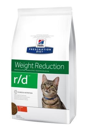 Hill's Prescription Diet Feline r/d сухий корм для зниження ваги у кішок, 1.5 кг