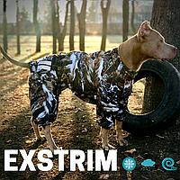 Теплая водонепроницаемая одежда для Собак больших пород EXtrim-Z . Мембрана+флис