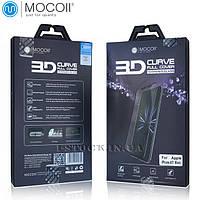 Защитное стекло Mocoll для APPLE iPhone 7/8 Black 3D Full Cover (0.33 мм) в комплект входит задняя плёнка