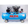 Компрессор AL-FA ALC150-2 400V (150 літрів), фото 3