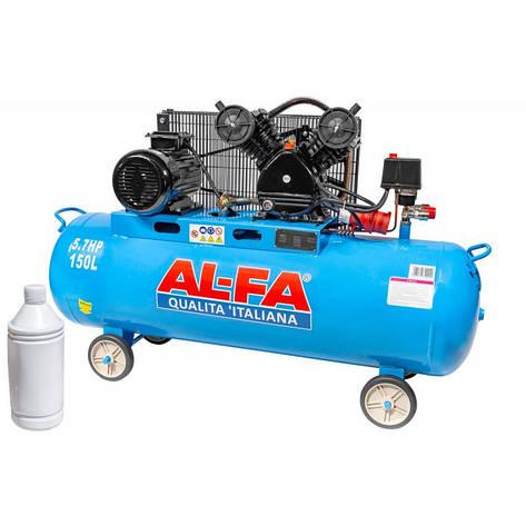Компрессор AL-FA ALC150-2 400V (150 літрів), фото 2