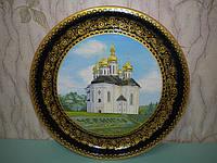 Тарелка декоративная с росписью