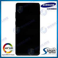 Дисплей на Samsung G975 Galaxy S10+/Plus Зелёный(Green),GH82-18849E, Super AMOLED!