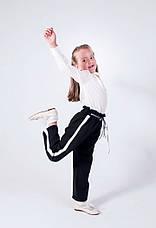 Стильные детские брюки для девочки в школу 134-158, фото 3