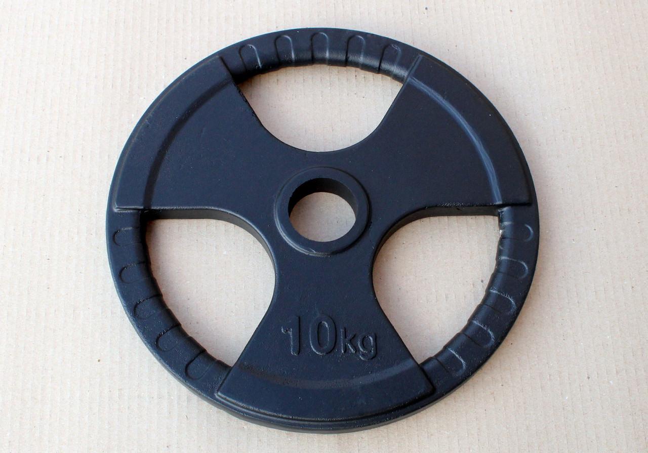 Блин литой окрашенный SL 10 кг (52 мм)