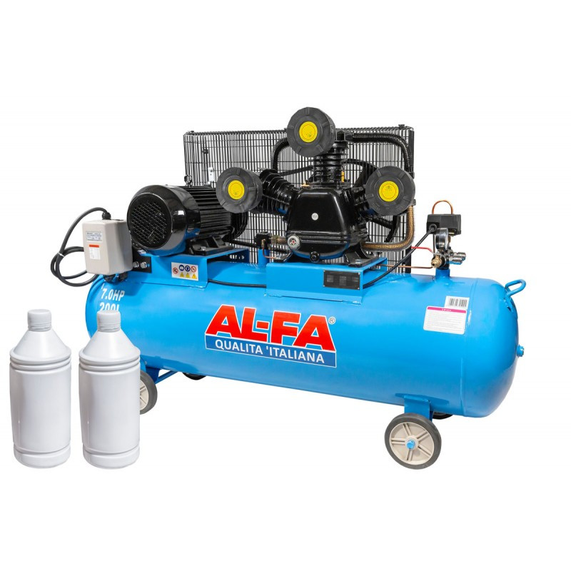 Компрессор AL-FA ALC220-3/400V (220 літрів) 3 поршні