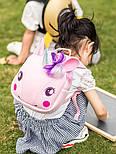 Рюкзак Supercute рожевий єдиноріг, фото 4