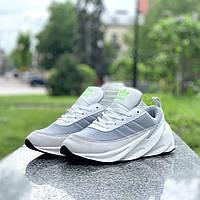 Женские кроссовки Adidas Sharks Grey White