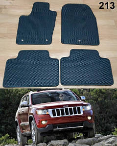 Коврики на Jeep Grand Cherokee 2011-. Автоковрики EVA