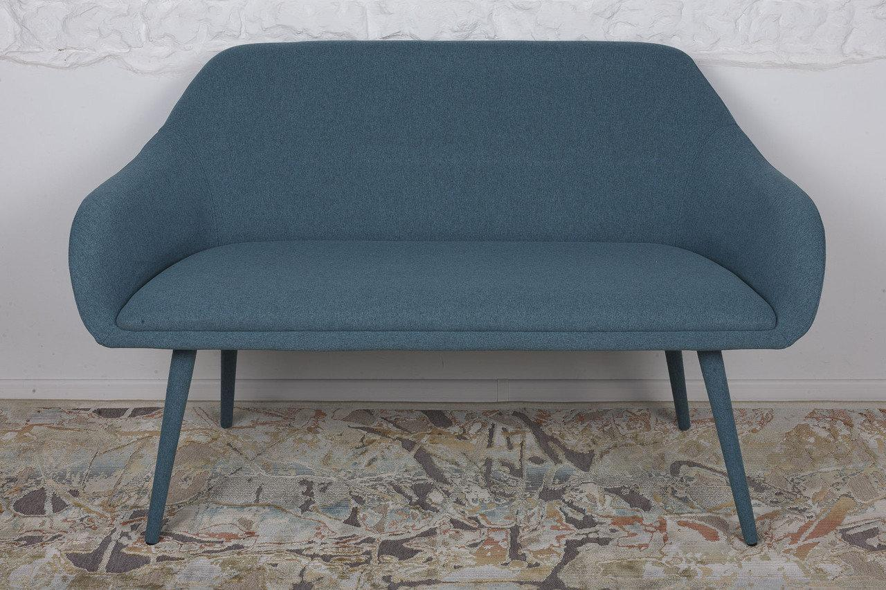 Кресло - банкетка Nicolas MAIORICA 131х61х81 см бирюзовый