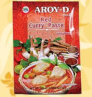Карі паста, червона, Aroy-D,50 г, Таїланд, NV