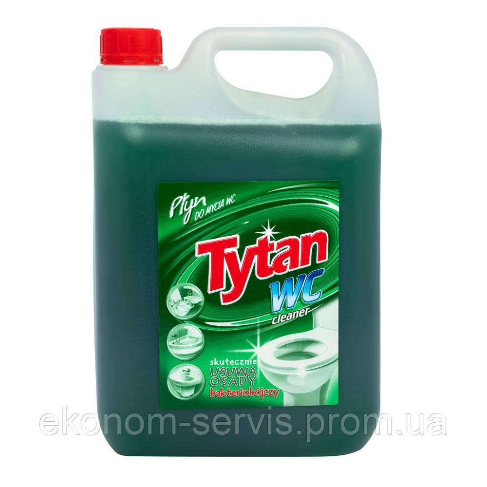 Средство для мытья туалетов Tytan Лесная зеленая, 5 л.