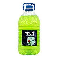 Средство для мытья посуды Vnuki с глицерином, Алое  5 л.