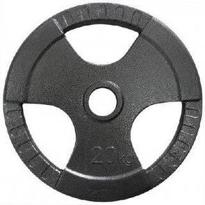 Блин литой окрашенный SL 20 кг (52 мм)