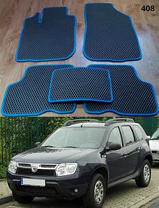 Коврики на Dacia Duster 2009-2017. Автоковрики EVA