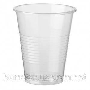 Стакан одноразовый пластиковый 180 мл / 100 шт.