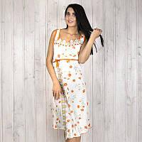 Ночная рубашка женская с цветочным узором и кружевом Onder (Турция) ondr1744