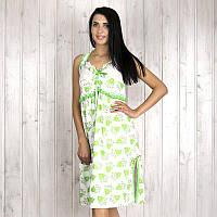 Ночная рубашка женская с цветочным узором и кружевом Onder (Турция) ondr1760