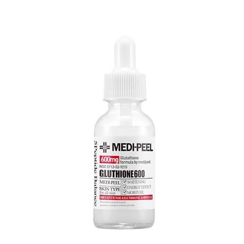 Осветляющая ампульная эссенция Medi-Peel Bio-Intense Glutathione 600 White Ampoule 30ml.